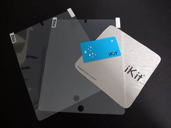 First Look: iKit Screen Protectors for iPad 2