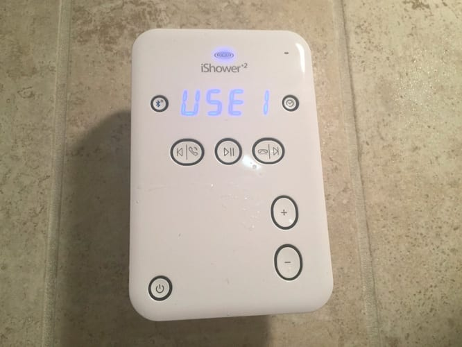 Review: iDevices iShower2 Bluetooth Water-Resistant Speaker