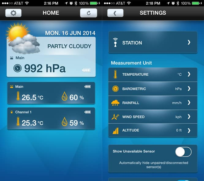 Review: Oregon Scientific Weather@Home Bluetooth-Enabled Weather Station