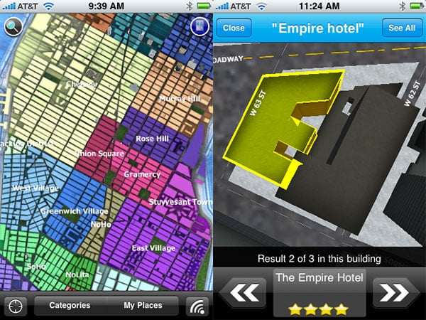 Weird + Small Apps: Star Trek Countdown, UpNext 3D NYC, TipOut, Moments, Michelin, FoodMenus + More
