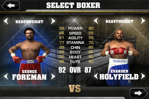 iPhone Gems: DoubleDragon + Fight Night Champion