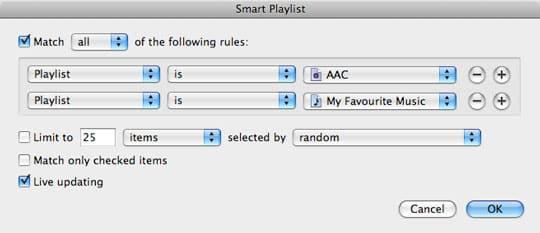 Managing multiple audio formats in iTunes