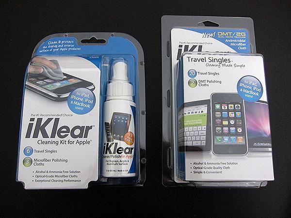 Preview: Meridrew Enterprises iKlear Cleaning Kit + Travel Singles for Apple