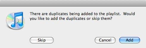 Finding Duplicates in iTunes