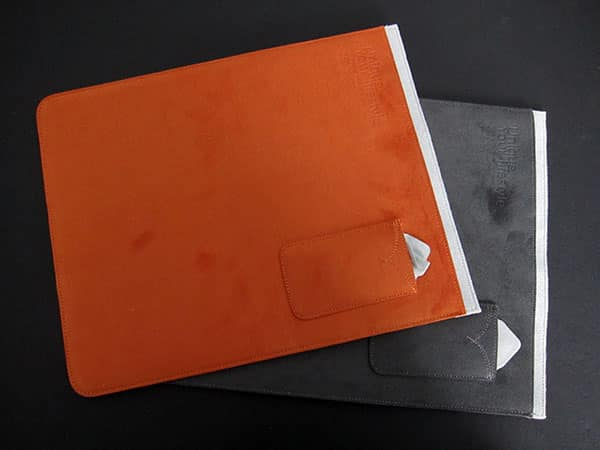 First Look: Evouni Leather Hard Case + Nano Fiber Pouches for iPad