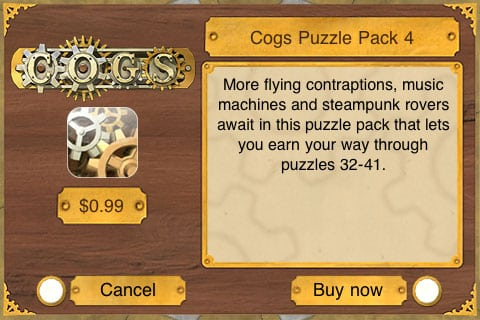 Editorial: On Cogs, Or, The Challenges Of In-App Purchasing