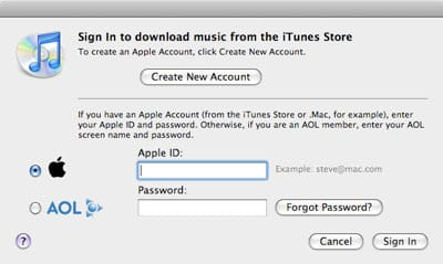 International iPod and iTunes Store use