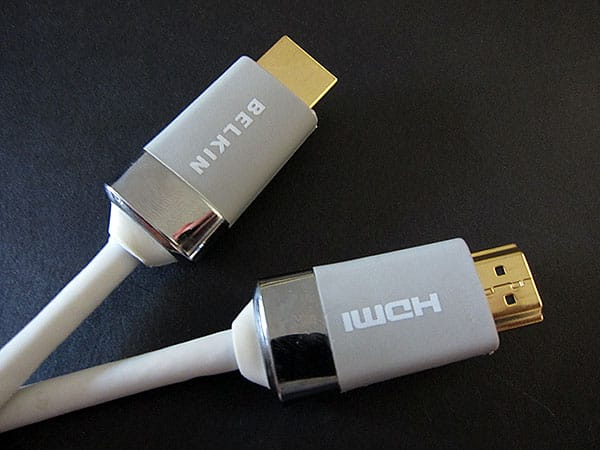 First Look: Belkin HDMI, DVI and Digital Optical Audio Cables for Apple TV