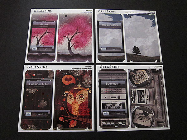 First Look: GelaSkins GelaSkins for iPhone 4 + iPod touch 4G