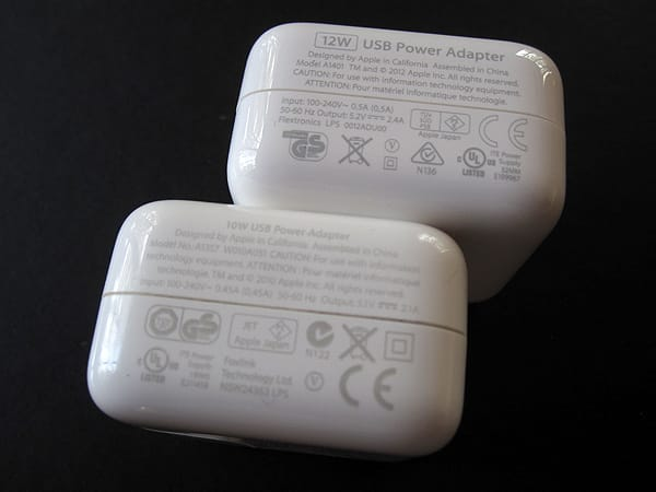 Review: Apple 12W USB Power Adapter