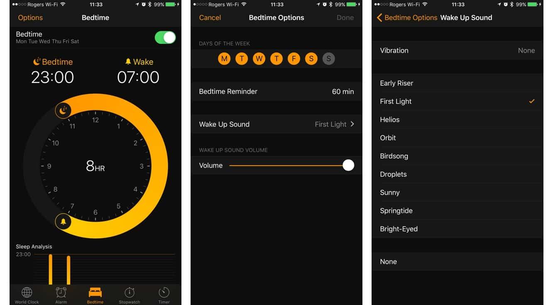 Tracking Your Sleep in iOS 10