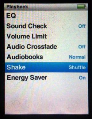 Disabling Shake-to-Shuffle on iPod nano