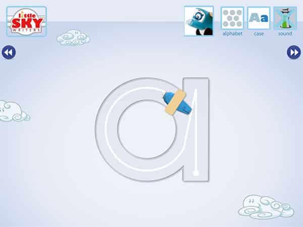 iPad Gems: ABC Song, Interactive Alphabet, Little Explorers ABC Wildlife, Little Sky Writers + More