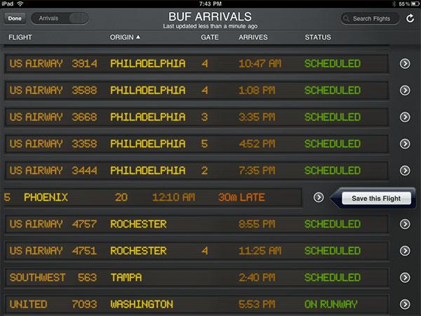 Small Apps + Updates: FlightTrack, Flight Update, River of News, ooTunes, Tuner + Wunder Radio