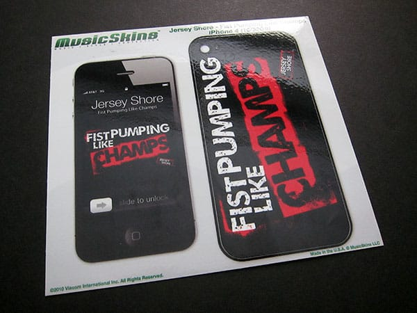 First Look: MusicSkins Skins for iPhone 4