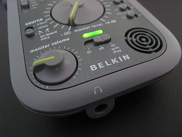 Preview: Belkin GoStudio Audio Recorder