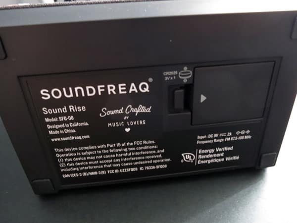 Review: Soundfreaq Sound Rise SFQ-08 Wireless Speaker with Alarm Clock