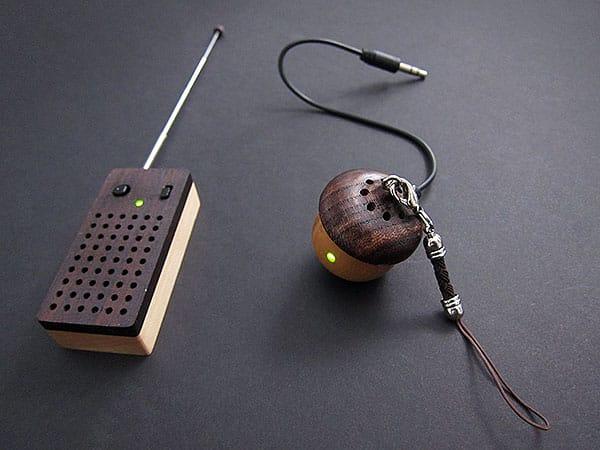 Review: Pyramid Distribution Motz Tiny Wooden Acorn + Emotion Speakers & FM Radios