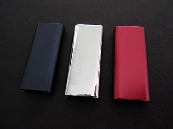 First Look: Core Cases Aluminum Jackets for iPod shuffle 3G