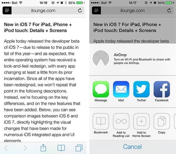 iOS 7: Clock, Game Center, Newsstand + Safari