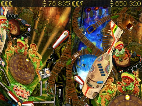 iPhone Gems: 2XL Fleet Defense, Glyder 2 + Jungle Style Pinball