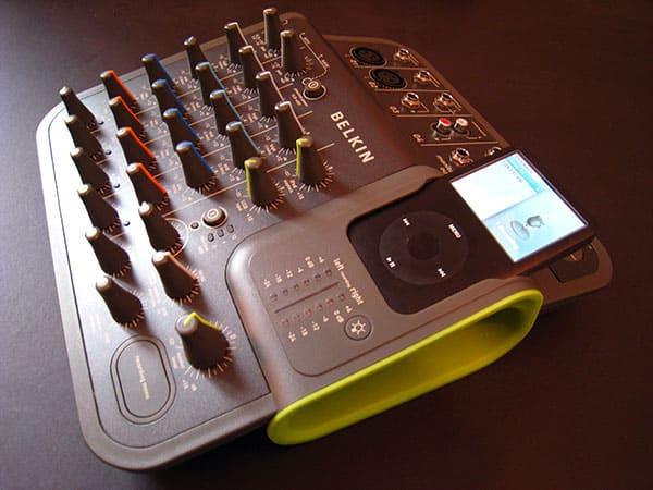 First Look: Belkin TuneStudio 4-Channel Mixer for iPod