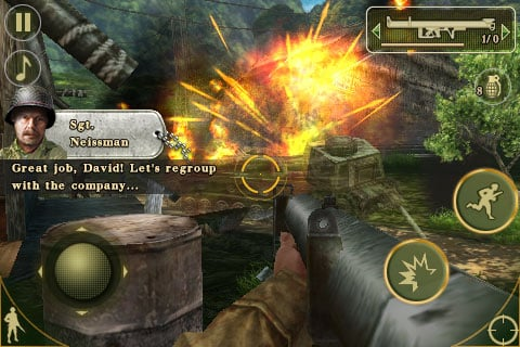 Review: Gameloft Brothers in Arms 2: Global Front