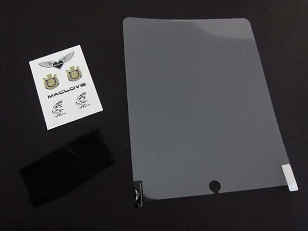 First Look: Maclove Anti-Glare and Crystal Shields for iPad