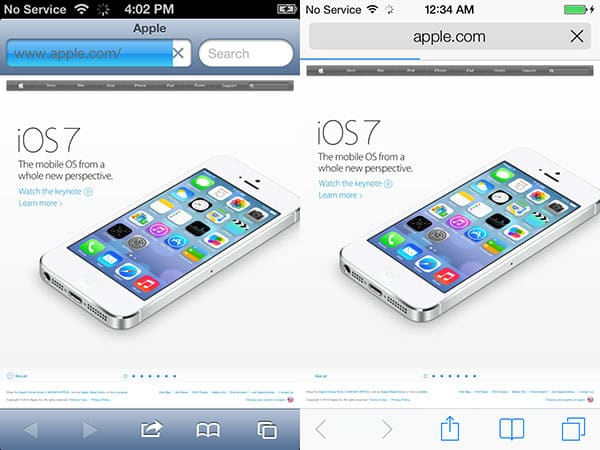 New in iOS 7 For iPad, iPhone + iPod touch: Details + Screens