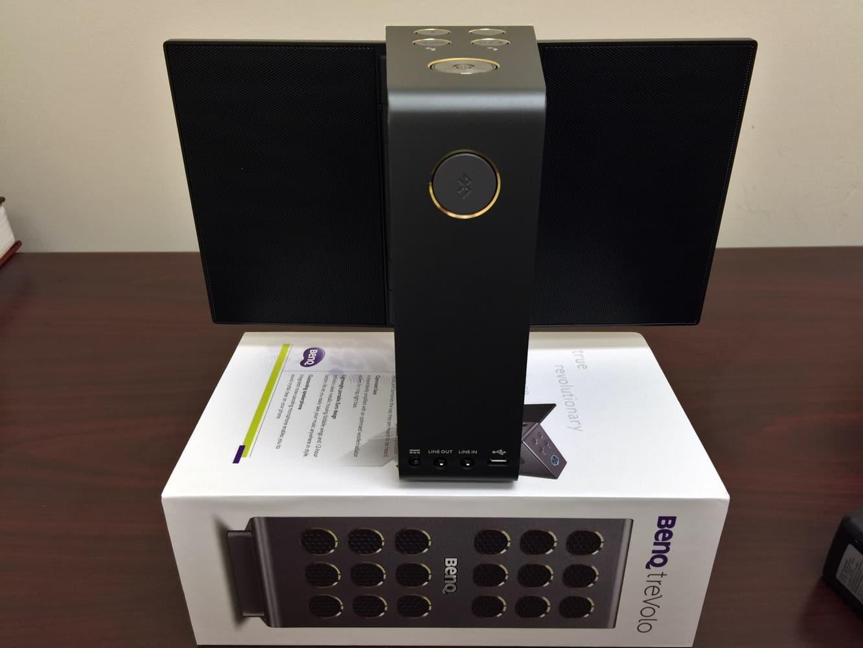 Review: BenQ treVolo Bluetooth Portable Electrostatic Speaker
