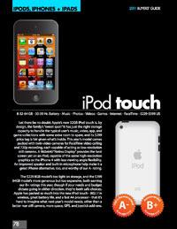 2011 iPod/iPhone/iPad Buyers' Guide