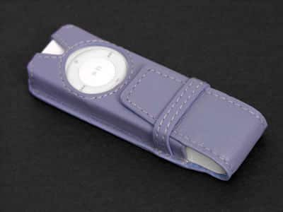 Review: Pods Plus Leather Cases for iPod shuffle