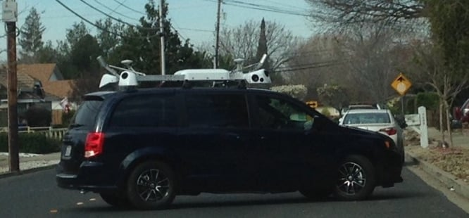 Mysterious Apple camera van seen around San Francisco area