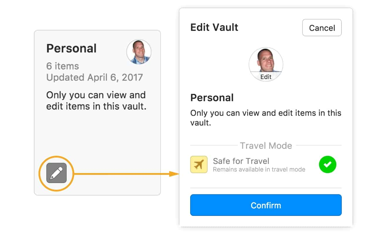 1Password adds 'Travel Mode' to help protect data during border crossings