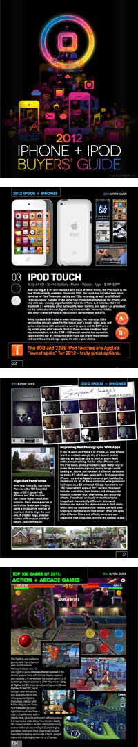 Download Now: iLounge's 2012 iPhone + iPod Buyers' Guide