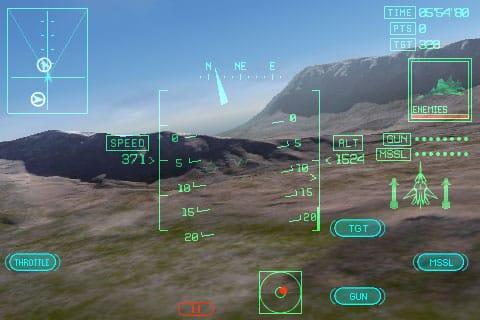 iPhone Gems: Ace Combat Xi, Labyrinth 2 + Project Phoenix
