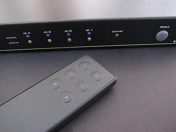 First Look: Simplism HDMI Switcher 4×2