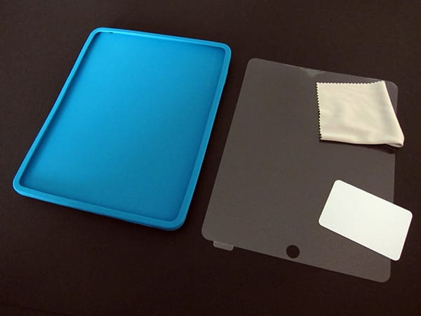 First Look: Simplism Silicone Case Set for iPad