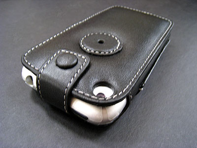 Review: PDair Leather Sleeve with Cover for Apple iPhone