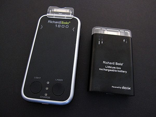 Review: RichardSolo 1800 Smart Backup Battery with Laser Pointer & LED Flashlight