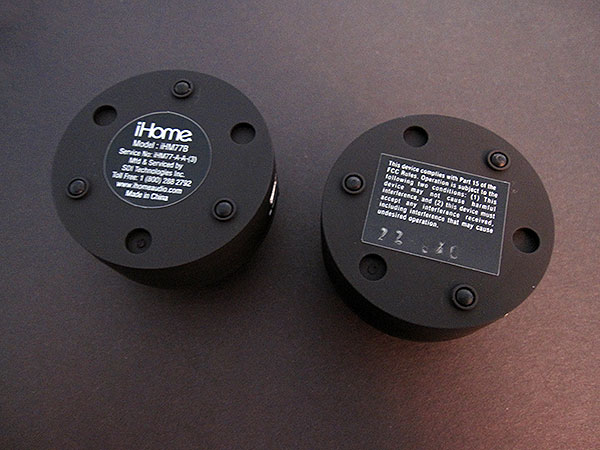 Review: iHome Capsule Sound iHM77 Rechargeable Mini Speakers