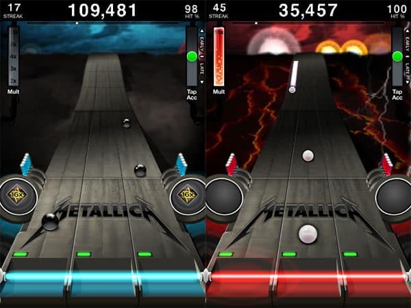 Review: Tapulous Metallica Revenge