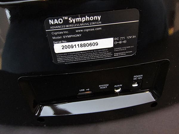 Review: Cignias Nao Symphony Wireless Music Station