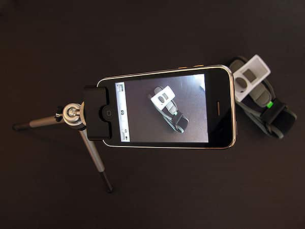 First Look: Mobile Mechatronics Blur Tripod for iPhone 3G/3GS