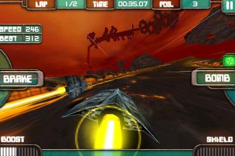 iPhone Gems: Low Grav Racer 2, Skater Nation + Tom Clancy's H.A.W.X