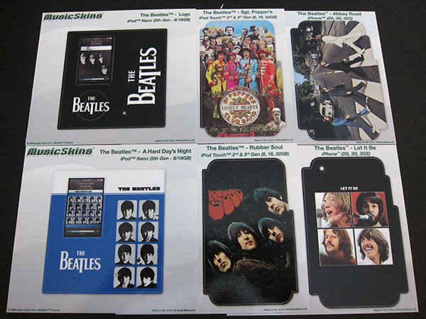 First Look: MusicSkins The Beatles Stickers for iPods + iPhones