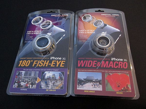Review: Digital King Wide & Macro + 180 Degree Fish-Eye Lenses for iPhone 3G + 3GS