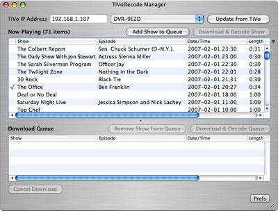 Review: Benesch TiVoDecode Manager 2.1