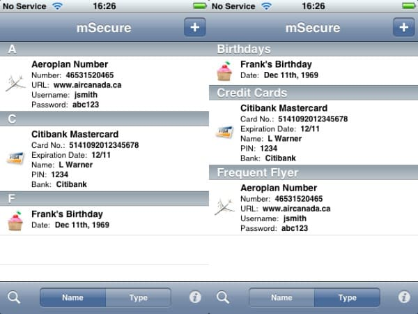 Review: mSecure v1.0 by mSeven Software