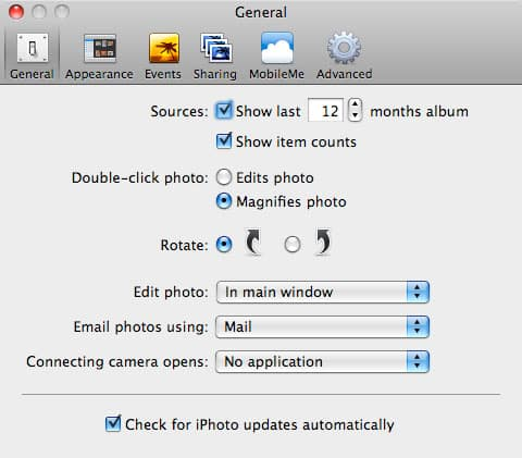 Preventing iPhoto from opening when connecting an iPod touch